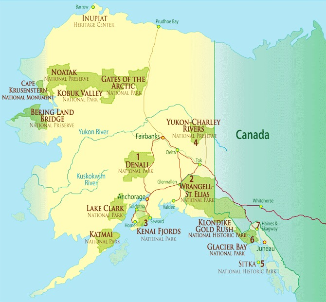 Other National Parks In Alaska