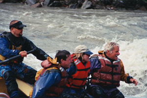 Rafters on the Nenana River